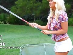Levi Marie is a the sexiest golf player on earth