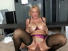 Milf Charlee Chase sucks dick of Xander Corvus