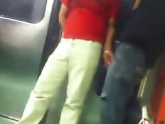 sobada de bultos en el metro