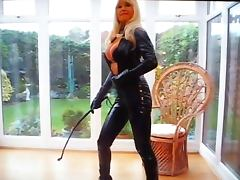 Catsuit, Blonde, Catsuit, Femdom, Latex, Lady
