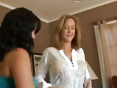 Brandi Love and Sophia Lemeni Have a 3 Some porn video