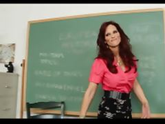 Foxy mature teacher gets load