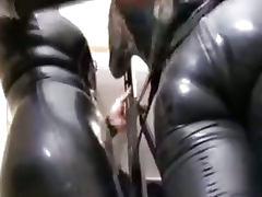 Rubber Smothering bdsm bondage slave femdom domination