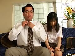 School Babe Anna Kuramoto Gets Fucked in Her Uniform