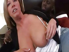 Big boobs milf Zoey gets rough interracial fuck and cumshot
