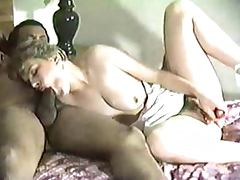 White wife with black man Amateur Interracial Homemade