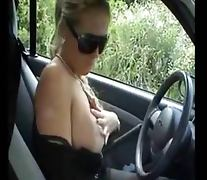 amateur cock sucker big tits mature in car