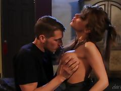 Hot cougar Alexa Nicole sucks and rides Chris Johnson's dick
