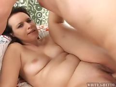 Sexy milf with a hot and hairy pussy enjoys that huge cock