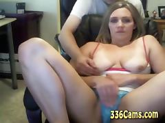 Young Couple Blowjob On Webcam
