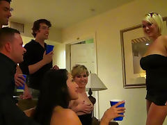All, Blowjob, Drinking, Drunk, Facial, Orgy