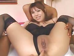 japanese asshole dildoed hardly