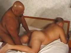 full scene with black bear