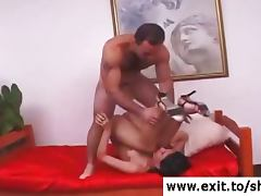 Rough anal treatment for Tranny Sabina