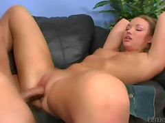 Maya Hills gets her sweet pink pussy ripped apart by Donny Long