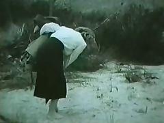 Pin up Girl in the desert