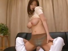 Sayuki Kanno gets her pussy licked and fucked in various positions