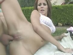 Vanessa gets her ass deflowered
