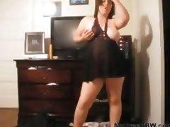 Plumper Babe Play In Solo BBW fat bbbw sbbw bbws bbw porn plumper fluffy cumshots cumshot chubby