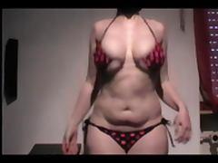 Nude Bikini Showing Tits Big Tits Belly Ass BBW