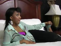Cock hungry ebony teen slut