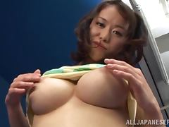 Kaede Niiyama Fucked by Two Cocks To Satiate Her Lustful Needs