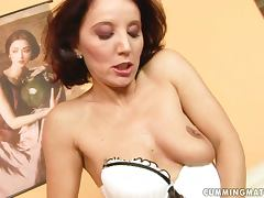 Majestic MILF Tries Her Daughter's Dildo Out