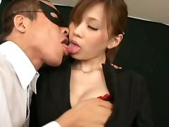 Stunnig Cock Sucking Asian Babe Ameri Ichinose Blowjobs