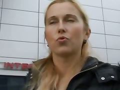CZECH STREETS Blonde MILF Picked up on Street