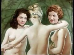 Lingerie, Brunette, Classic, Compilation, European, French