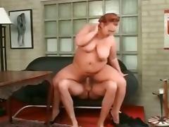 BBW Redhead Fucked