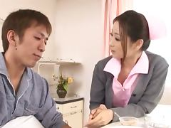Stunning Japanese Doctor Yuu Kawakami Having Sex in Her Office