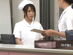 Sexy Nurse Ichika Rides Her Patient's Cock