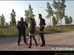 Public Public Sex Threesome By A Busy Highway teen amateur teen cumshots swallow dp anal