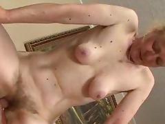 Hairy old Grandma loves having sex like in good old times