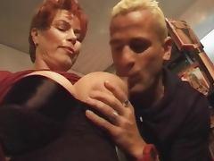 Redhead Shorthair MILF Smoking Fetish Fuck
