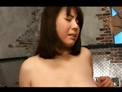 Rin Aoki Big tits bukkake
