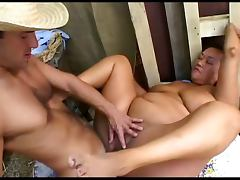 Chubby Ponytailed Asian Pony Ginger Fucked In Her Stable