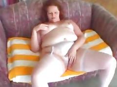 BBW Adrienne anal
