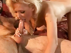 Hot Blonde Euro Margo Russo