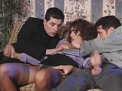 Italien Threesome Dp 90s porn video