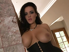 Big Tits Hottie Banged By Big Black Cock
