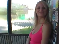 Amateur public slut tit flash