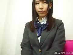 Yume Kanasaki the hot stewardess gets fucked nice