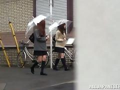 Miniskirt, Asian, Bra, Couple, Fucking, Hardcore