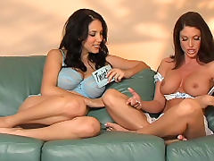 Jelena Jensen bangs with slutty Jessica DiFeo