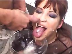 sexy cum drinker