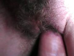 Sperm, Amateur, Close Up, Cum, Hairy, Pussy
