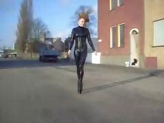 Ballerina, Boots, Latex, Ballerina