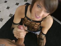 Kirsten gets her asshole toyed and pounded deep and hard